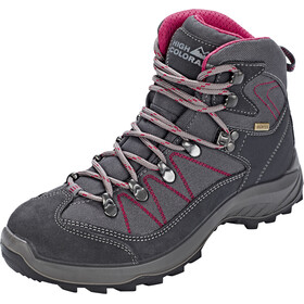 High Colorado Ultra Hike Mid High Tex Schoenen Dames, anthracite/berry